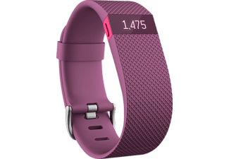 FITBIT Charge HR - Lila (Stor)