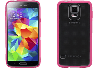 GRIFFIN GR-GB41183 Galaxy S6 Handyhülle, Pink/Transparent