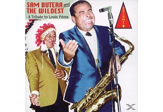 Sam Butera - Vol.1, Tribute To Louis Prima - (CD)