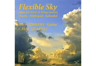 Han Jonkers, Casal Quartet - Flexible Sky-Music For Guitar & String Quartet [CD]