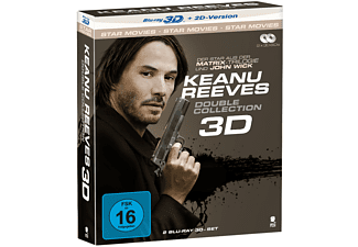 Keanu Reeves-Box [3D Blu-ray (+2D)]