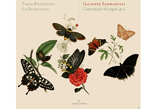 Fabio Bonizzoni, La Risonanza - Concertos For The Organ, Op.9 [CD]