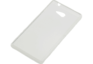 25439 TPU Case Backcover Sony Xperia M2 Polycarbonat Weiß