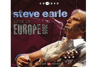 Steve Earle - Live In Europe 2005 - (CD + DVD)