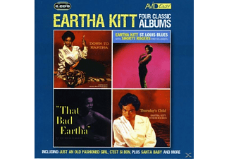 Eartha Kitt - 4 Classic Albums [CD]