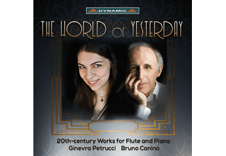 Ginevra Petrucci, Bruno Canino - The World Of Yesterday - (CD)