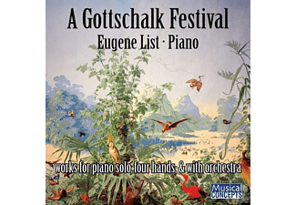 List Eugene - A Gottschalk Festival-Origins Of Ragtime & Jazz [CD]