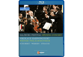 Harnoncourt/Wph - Salzburg Festival Opening Concert 2009 - (Blu-ray)