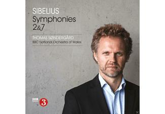 Bbc National Orchestra Of Wales - Sinfonien 2 & 7 - (SACD Hybrid)