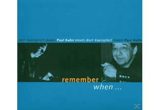 Paul Kuhn - Remember When (Paul Kuhn Meets Bert Kaempfert) - (CD)