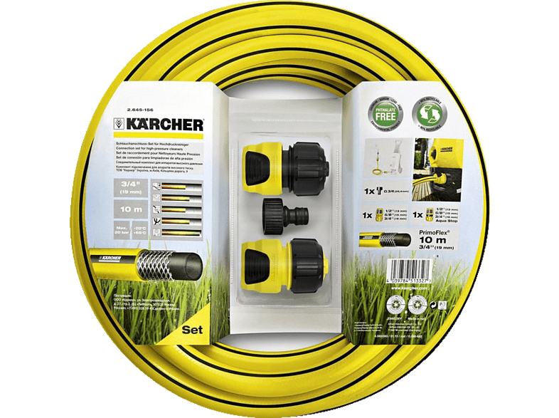 KARCHER Σετ σύνδεσης για μηχανήματα καθαρισμού υψηλής πίεσης - (2.645-156.0) hobby   φωτογραφία κήπος   σπίτι εργαλεία κήπου οικιακές συσκευές   offline εργα
