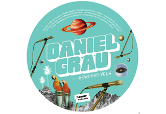 Daniel Grau - Reworks Vol.4 By Mark E, Jacques Renault, Marcel Vog - (Vinyl)