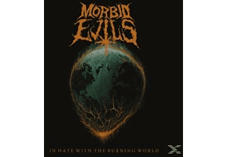 Morbid Evils - In Hate With The Burning World - (CD)