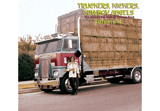 VARIOUS - Truckers, Kickers, Cowboy Angels Vol.4 - (CD)