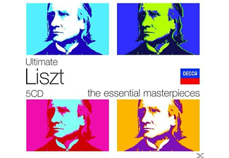 VARIOUS - Ultimate Liszt - (CD)