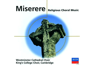 WESTMINSTER CATH.CH - Miserere-Sacred Choral Works - (CD)