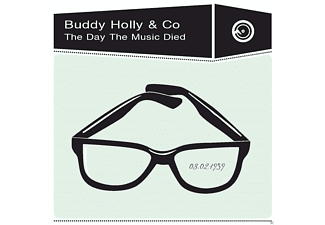 Buddy Holly - The Day The Music Died - (CD)