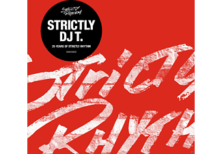 VARIOUS - Strictly Dj T.: 25 Years Of Strictly Rhythm [CD]