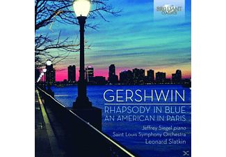 Jefrey Siegel, Saint Louis Symphony Orchestra - Rhapsody In Blue/An American In Paris [CD]