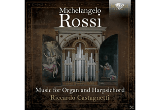 Riccardo Castagnetti - Music For Organ And Harpsichord - (CD)