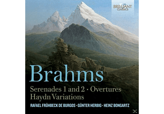 Dresdner Philharmonie, Berliner Sinfonieorchester, London Symphony Orchestra - Serenades 1 & 2/Overtures/Haydn Variations - (CD)