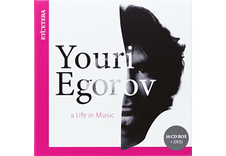 Egorov Youri - A Life In Music - (CD + DVD-Video-Single)