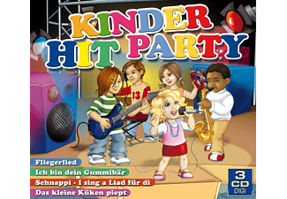 Kroki, Party-girls, Michi Und Die Hit-kids, Funny Kids, Kids United, Funny Chick, Melly Und Die Partykids, Die Party-mäuse, VARIOUS, Die Partykids - Kinder Hit Party - (CD)