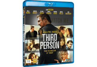 Third Person Drama Blu-ray