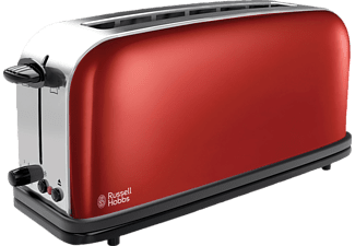 RUSSELL HOBBS 21391-56 COLOURS TOASTER Toaster Rot/Edelstahl/Schwarz (1.1 kW, Schlitze: 1)