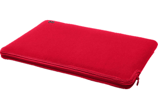 C6 C1326 Neopren Zip, Sleeve, 13 Zoll, MacBook Air 13, Retina 13, Rot