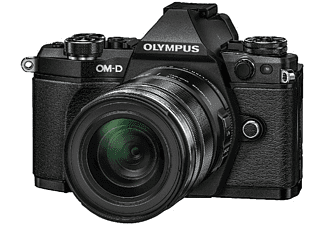 OLYMPUS OM-D E-M5 Mark II + 12-50mm Zwart