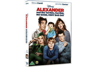 Alexander and the Terrible Familj DVD