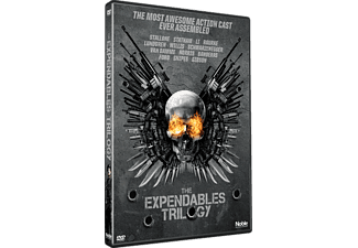 The Expendables Trilogy Box Action DVD