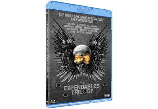 The Expendables Trilogy Box Action Blu-ray