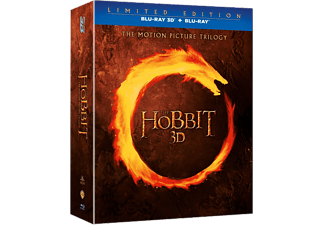 Hobbit Trilogy Box Äventyr Blu-ray 3D