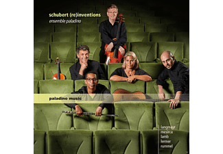 Ensemble Paladino - Schubert (Re)Inventions - (CD)