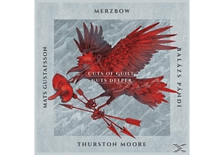 Merzbow, Mats Gustafsson, Balazs Pandi, Moore Thurston - Cuts Of Guilt, Cuts Deeper [CD]