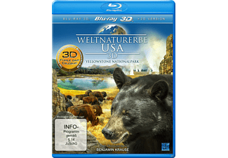 Weltnaturerbe USA 3D - Yellowstone Nationalpark - (3D Blu-ray (+2D))