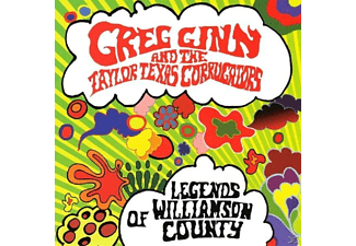 Greg Ginn - Legends Of Williamson County - (CD)