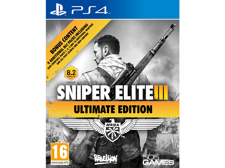 Sniper Elite 3 Ultimate Edition PlayStation 4 gaming games ps4 games