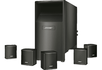 bose lautsprecher system acoustimass 6 serie v schwarz. Black Bedroom Furniture Sets. Home Design Ideas