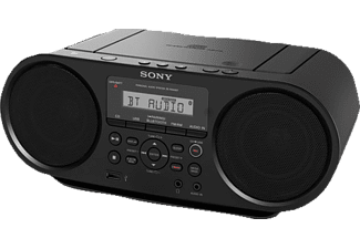 SONY ZS-RS60BT, CD Player, Schwarz