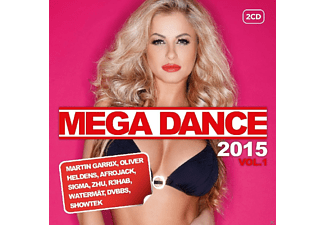 VARIOUS - Mega Dance 2015 Vol.1 [CD]
