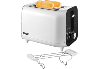 UNOLD 38410 Shine white, Toaster, 800 Watt