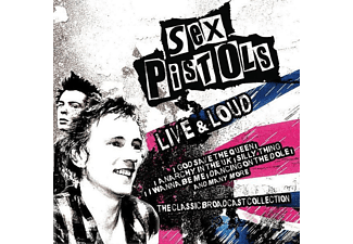The Sex Pistols - Live And Loud - (CD)