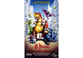 4 Dinos in New York - (DVD)