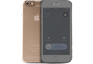 PURO PU-125508 Business Collection iPhone 6 Plus Handyhülle, Transparent
