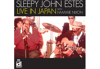 Sleepy John Estes - Live In Japan - (CD)