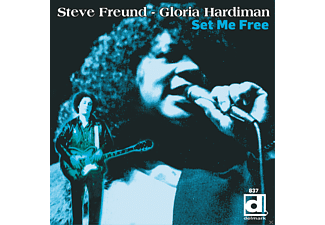 Steve Freund;Gloria Hardiman - Set Me Free - (CD)