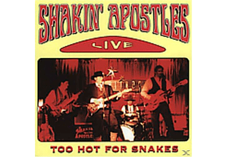 Shakin' Apostles - Too Hot For Snakes-Live - (CD)